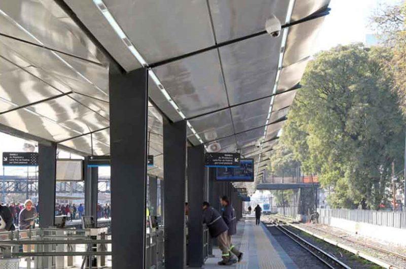 Liniers tiene una nueva estación de trenes