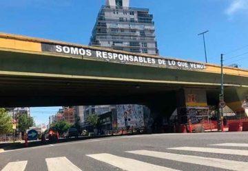 Comenzó el desmonte del puente de Córdoba y Juan B. Justo