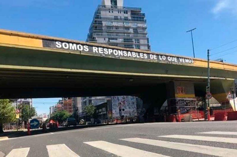 El puente sobre av. Juan B. Justo permanecerá cerrado