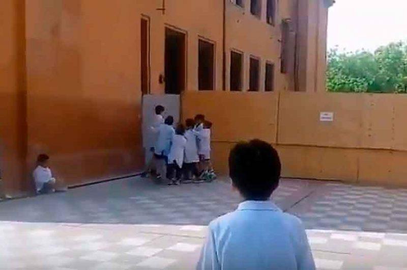 Polémico vídeo de alumnos cantando Viva Peron