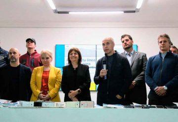 Presentación de la campaña de registro de celulares