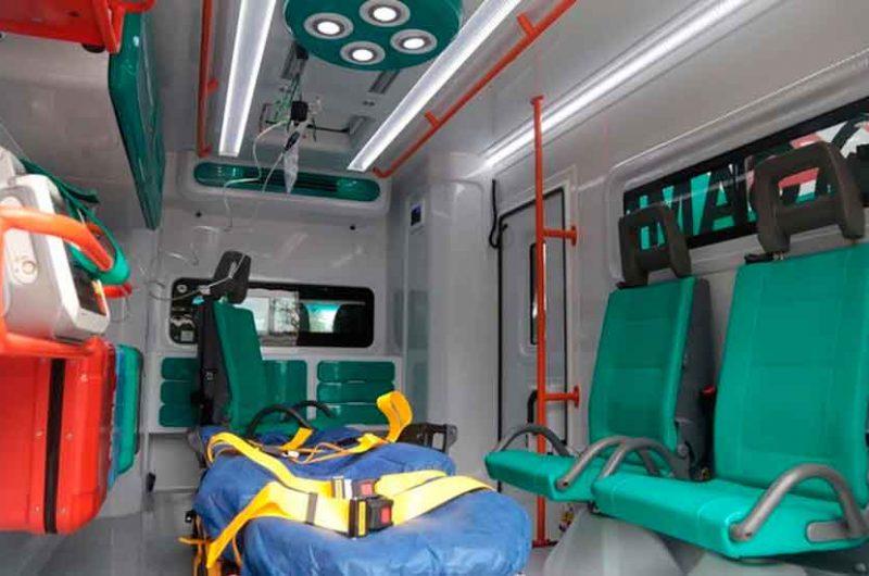 Nuevas ambulancias equipadas con la última tecnología