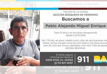 Búsqueda de persona -Pablo Alejandro Miguel Enrique