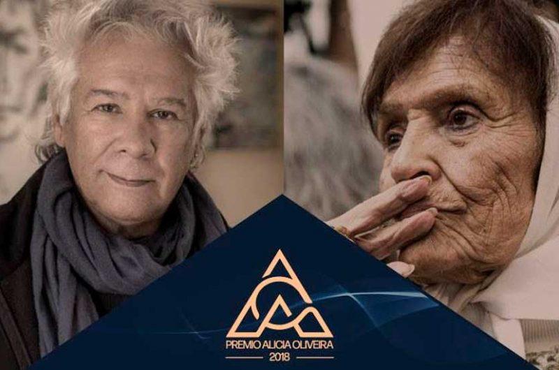 Taty Almeida y Víctor Heredia recibirán el premio Alicia Oliveira