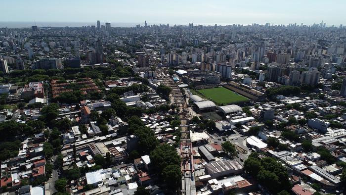 Dorrego y Corrientes estará cortada por obras del Viaducto