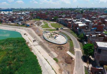 Avanzan las obras en el Parque Indoamericano