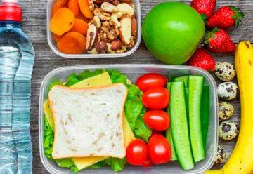 Llevar una correcta nutrición es algo innato natural y lógico