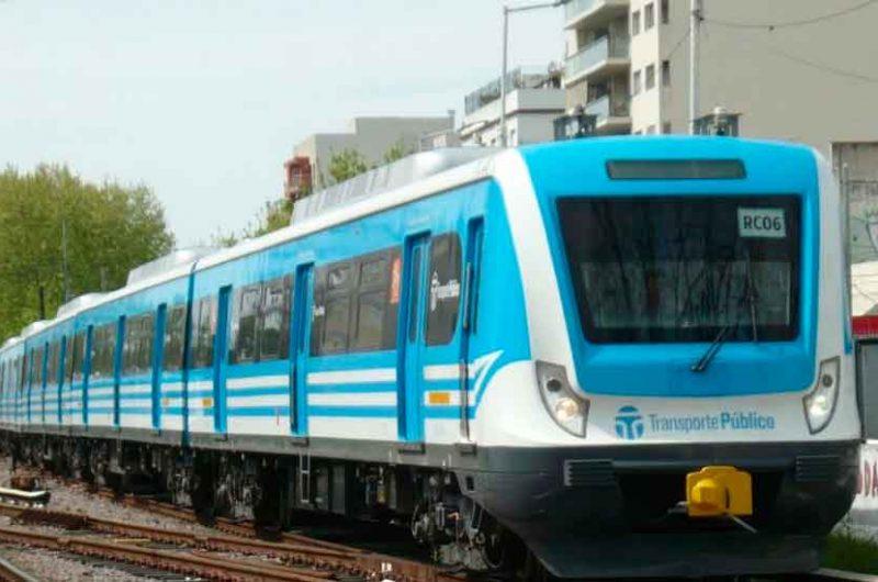 Servicio limitado en el tren Sarmiento el domingo
