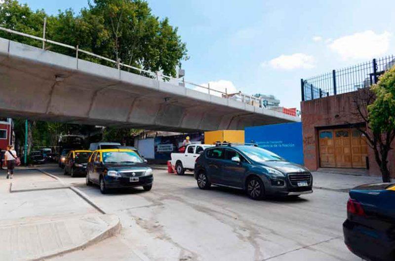 Viaducto Mitre: reapertura de la calle Blanco Encalada