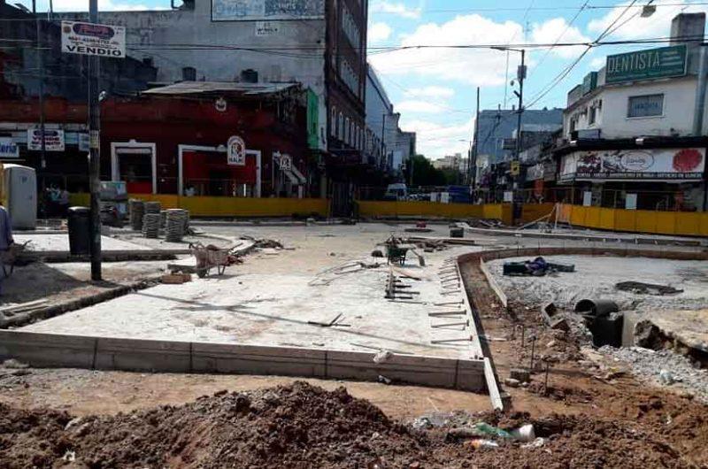 Continúan los trabajos en el Centro de Trasbordo Liniers
