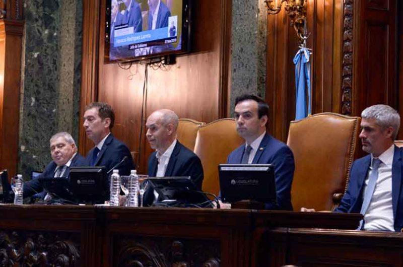 El Jefe de Gobierno inauguró el Período de Sesiones Ordinarias