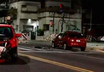 Choque fatal entre una moto y un auto en San Pedrito y Directorio