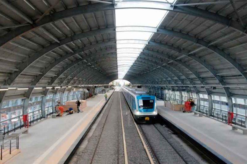 Comenzaron las pruebas con trenes en el viaducto Mitre