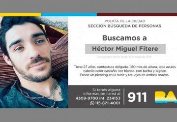 Búsqueda de persona – Héctor Miguel Fitere