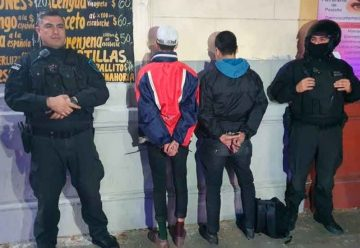 La Policía de la Ciudad detuvo a dos «bicichorros»