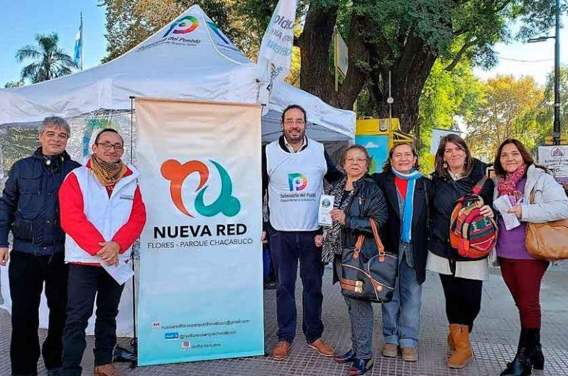 Día Mundial sin tabaco en la Plaza Flores