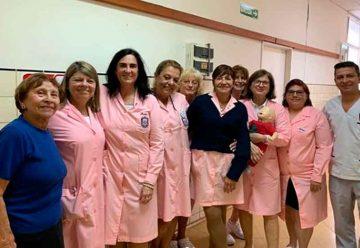 """Reconocimiento de la ciudad a las """"Damas rosadas"""""""