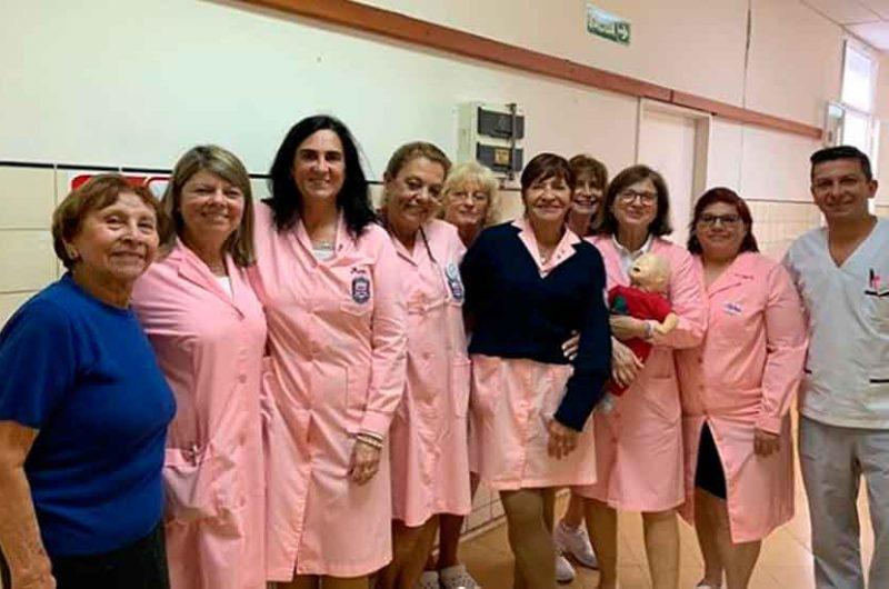 Reconocimiento de la ciudad a las «Damas rosadas»