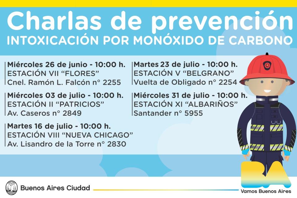 Prevención de accidentes por inhalación de monóxido de carbono