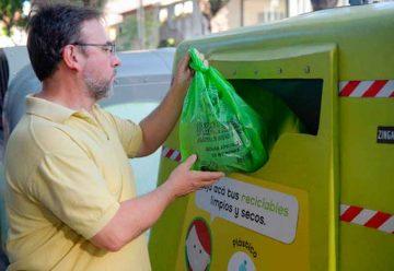 Desde la Ciudad se premiara a los vecinos que reciclen