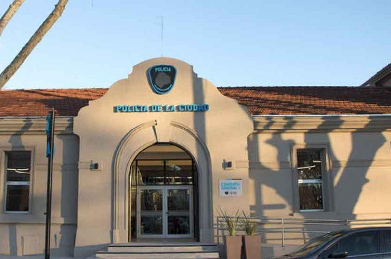 Obras de la futura Comisaría Comunal 1 de la Policia