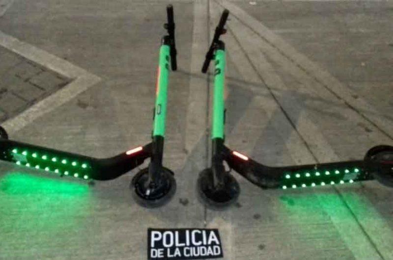 Detuvieron a los «roba monopatines» de Almagro