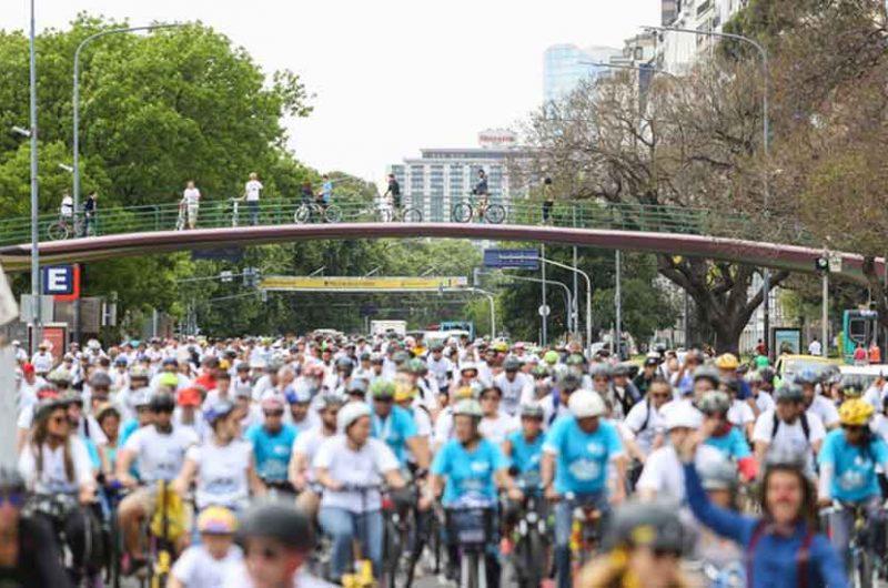 7º edición de la Bicicleteada Familiar Banco Ciudad