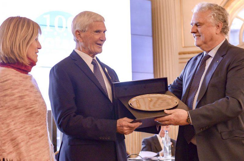El Rotary de la Ciudad celebró sus cien años