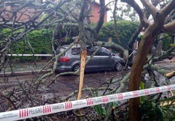 Los barrios más afectados por lluvias fueron Flores y Devoto