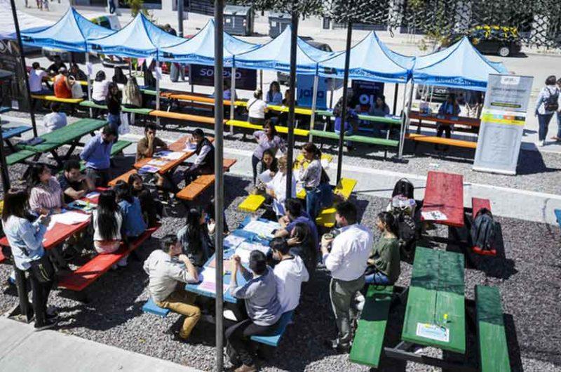 Expo Empleo Barrial en el Barrio Rodrigo Bueno