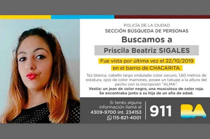 Priscila Beatriz Sigales – Búsqueda de persona