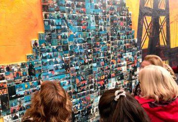 10 mil vecinos participaron de los fotomurales de los barrios