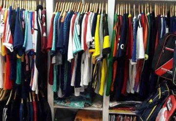 La Policía secuestró mercadería deportiva apócrifa