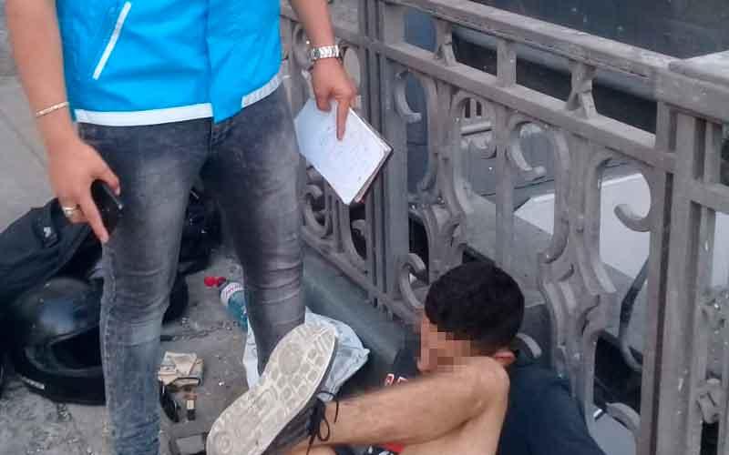 La Policía de la Ciudad detuvo a ladrón de celulares
