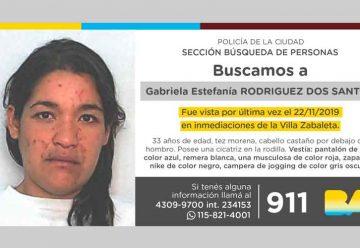 Búsqueda de persona - Gabriela Estefanía Rodríguez Dos Santos