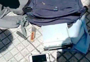 Una mujer «roba estéreos» detenida por la Policía