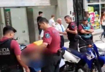 La Policía detuvo a dos motochorros en Almagro