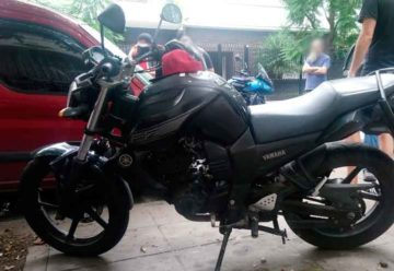 Detienen en Caballito a un motoquero que violaba la cuarentena