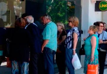 Abrirán los bancos para que los jubilados puedan cobrar