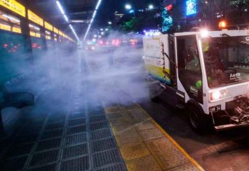 Plan de desinfección del Espacio Público de la Ciudad