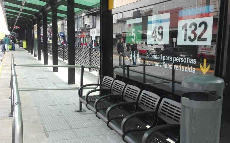 Nuevo Metrobús en las avenidas Alberdi y Directorio