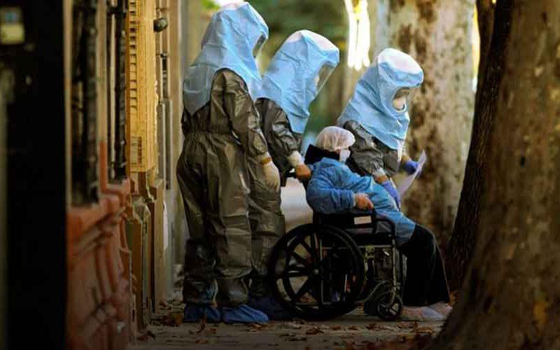 Evacuaron un geriátrico por contagio masivo de COVID-19