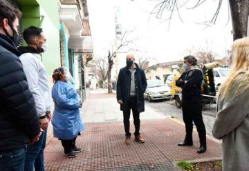 Coronavirus: Plan DetectAR en Parque Chacabuco