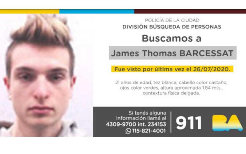 Búsqueda de persona: James Thomas Barcessat
