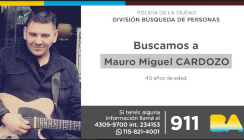Búsqueda de persona: Mauro Miguel Cardozo