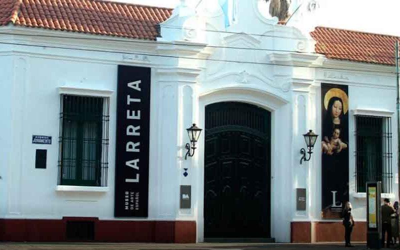 Recorrido virtual por el Museo de Arte Español Enrique Larreta
