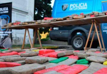 Más de 2.000 kilos de droga fueron incinerados en el crematorio de Chacarita