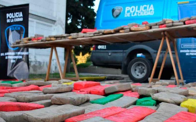 Más de 2.000 kilos de droga fueron incinerados