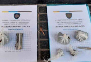 Cuatro dealers fueron detenidos en operativos en Balvanera y Flores