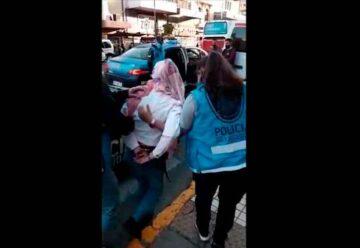 Tres delincuentes fueron detenidos en Flores